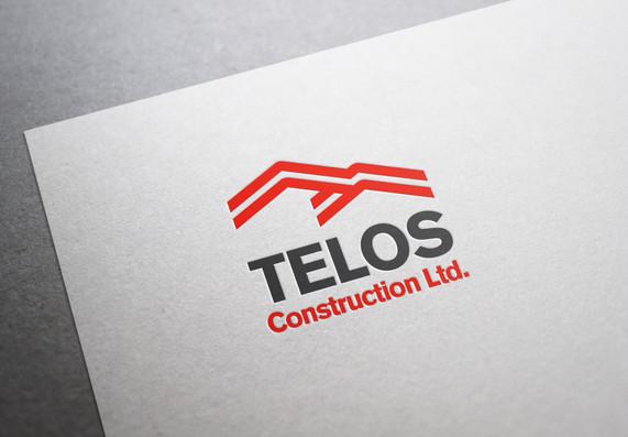 Telos Construction Branding