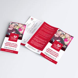 Villa Cathay Print Marketing
