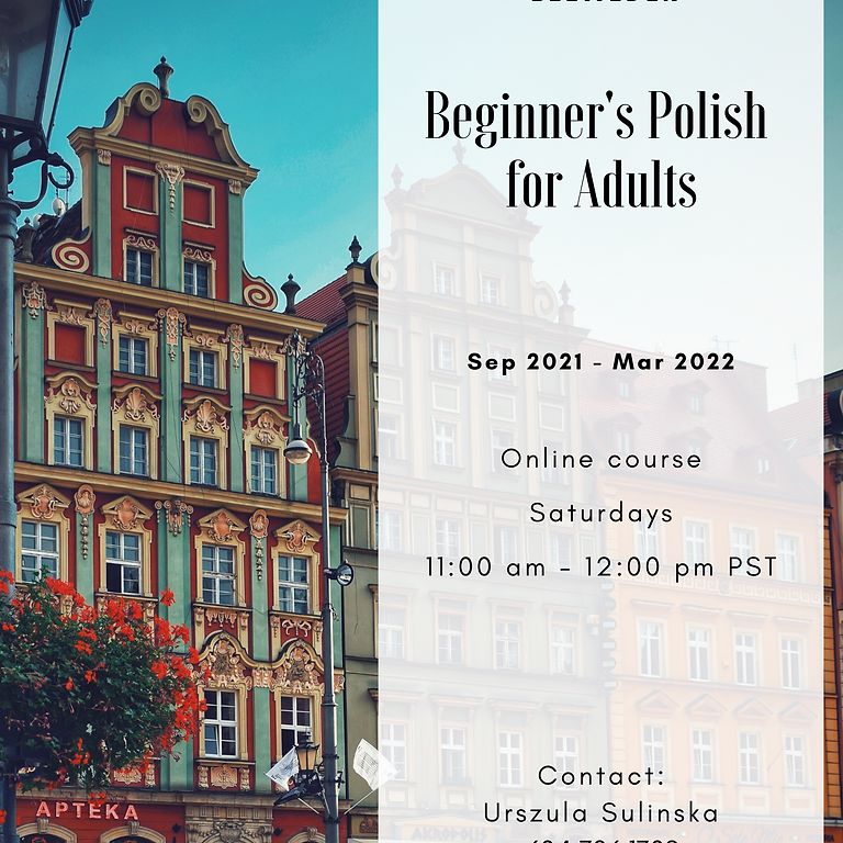 Polish Language for Adults (A1)