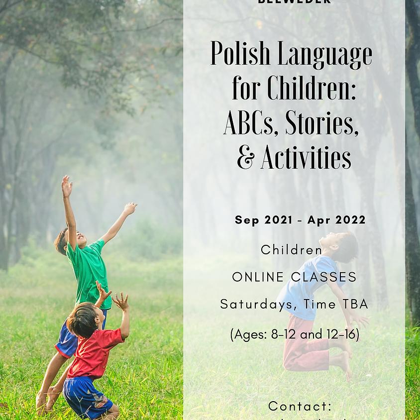 ABCs, Polish Language for Children (C1)