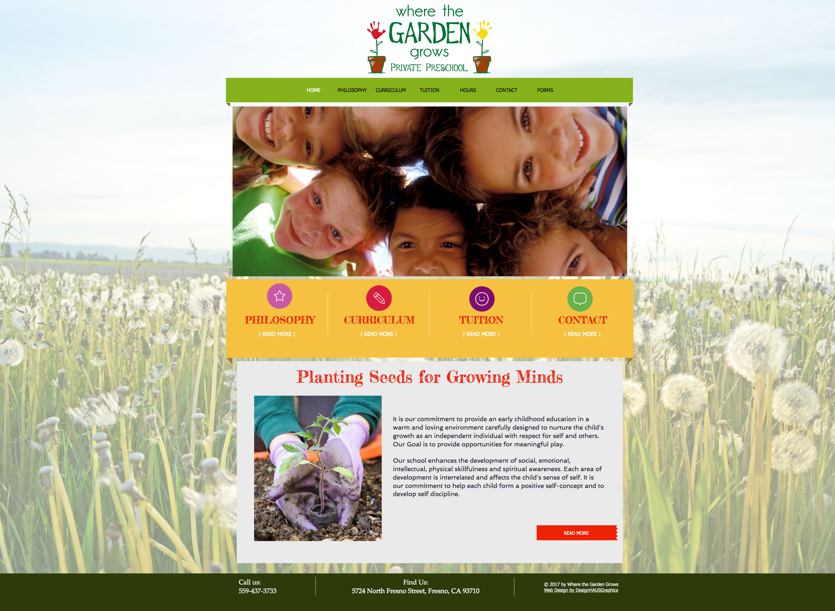 Where the Garden Grows Preschool