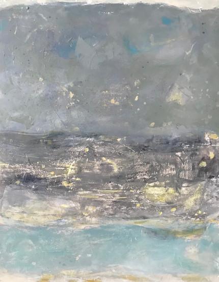 Mer des Caraïbes sous un ciel de plomb
