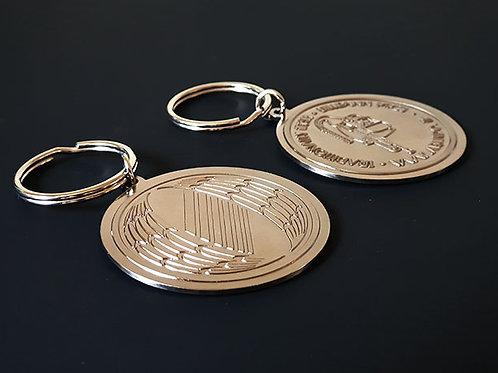 Arundó Metallic Keyring