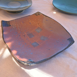 Red Slab Plate