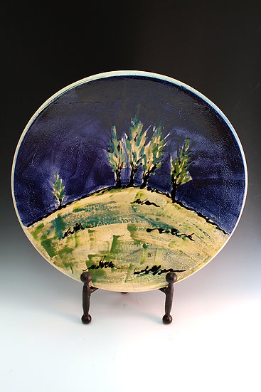 Trees Platter - SOLD