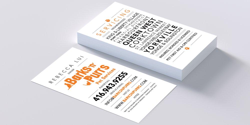 bnp business card mockup