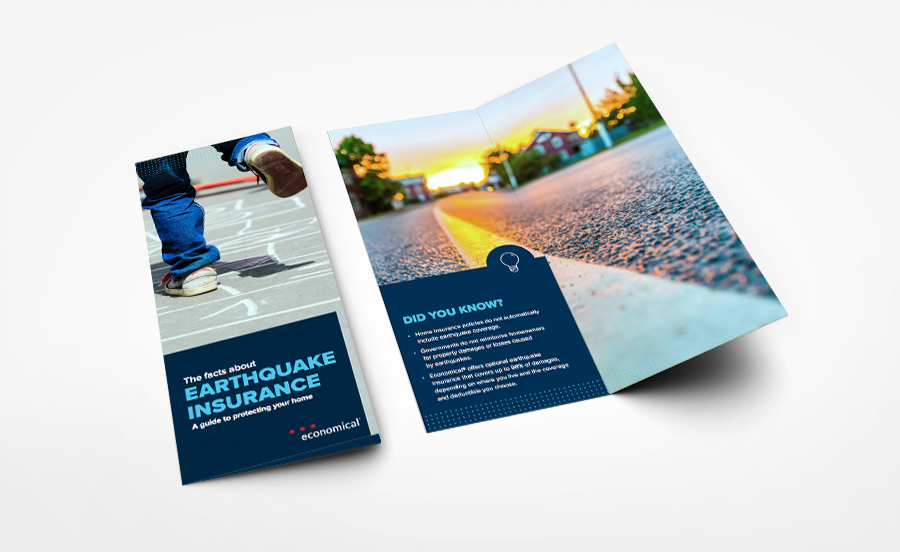 Earthquake Insurance Brochure