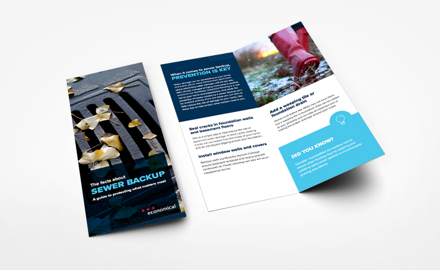 Sewer Backup Brochure
