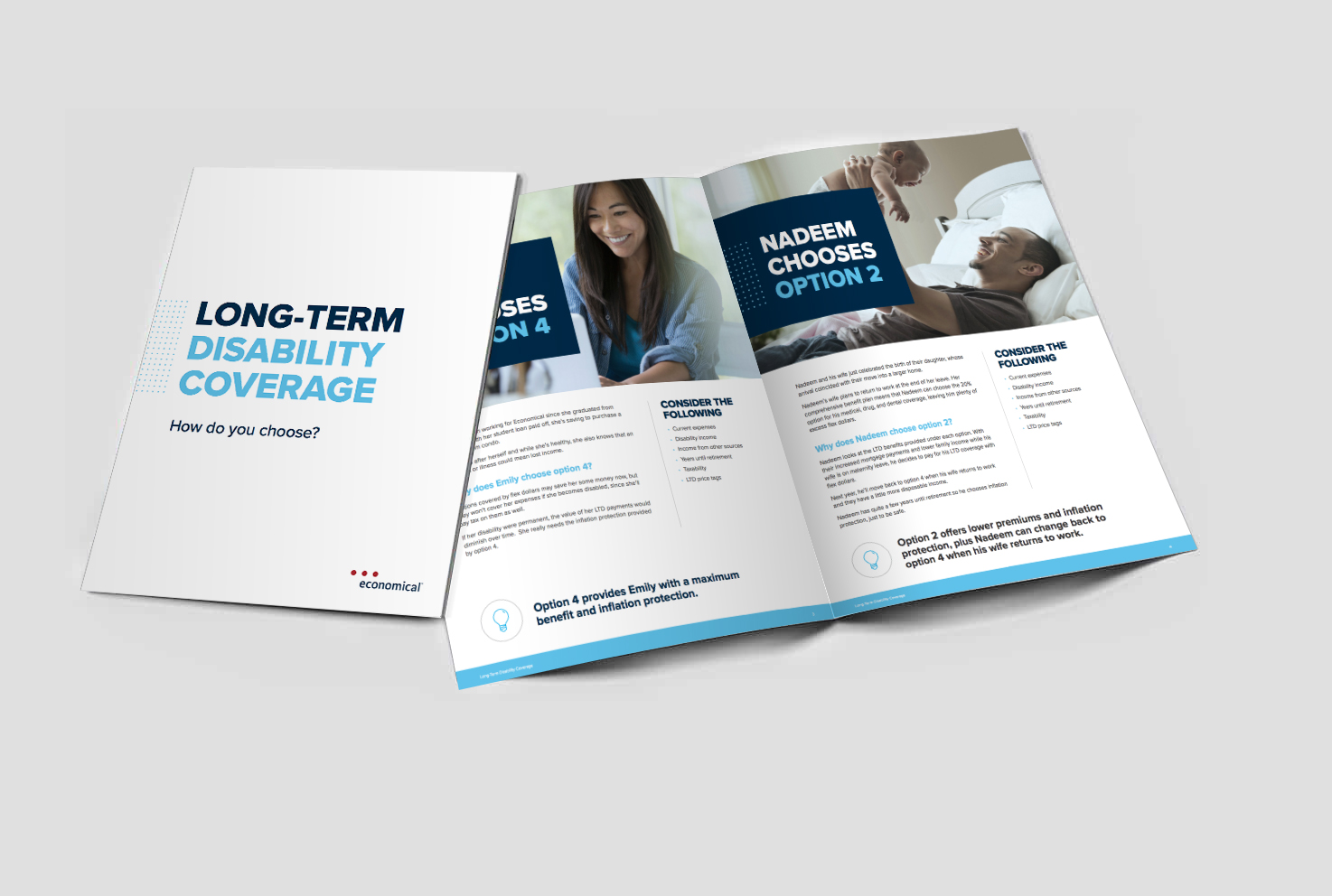 Long-term disability booklet