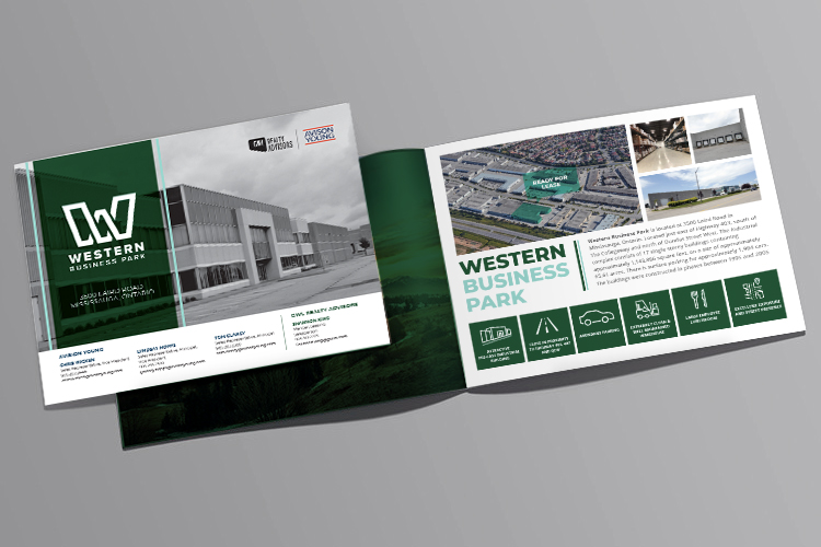 Western Business Park marketing flyer