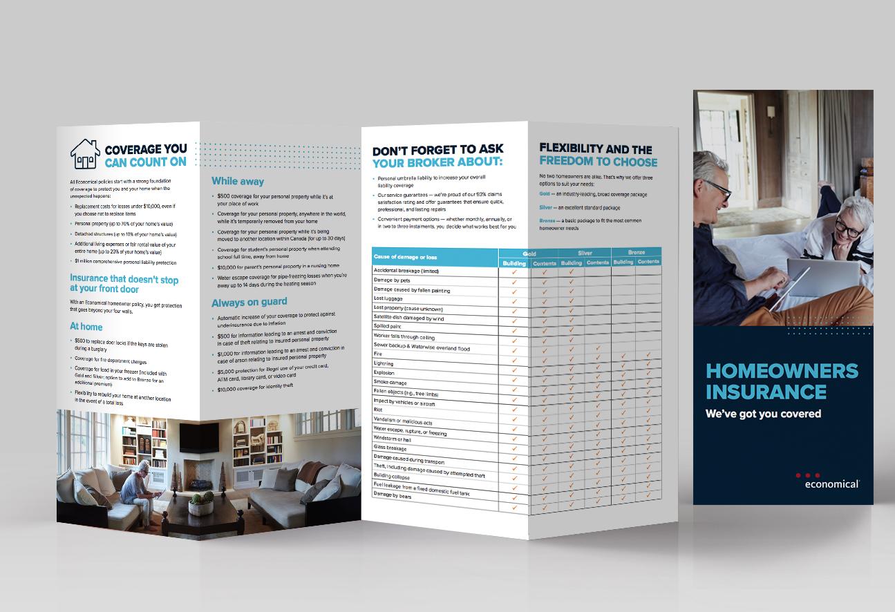 Homeowner Insurance Brochure