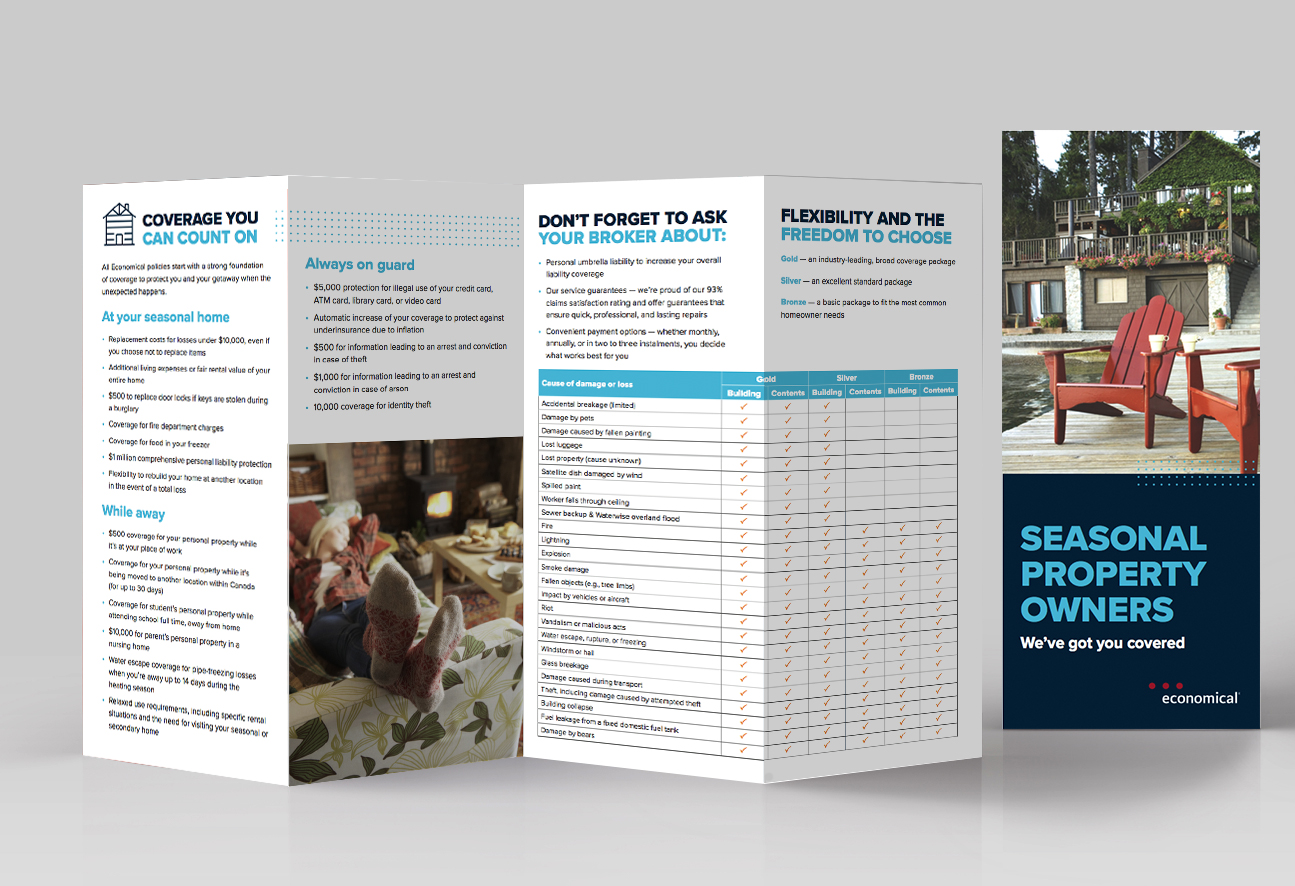 Seasonal Property Owners Brochure