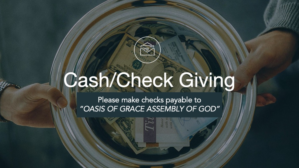 Cash/Check Giving