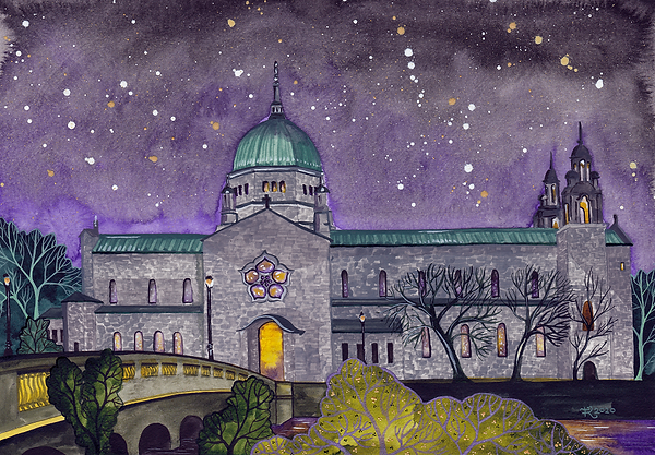Galway Cathedral at night sml.png