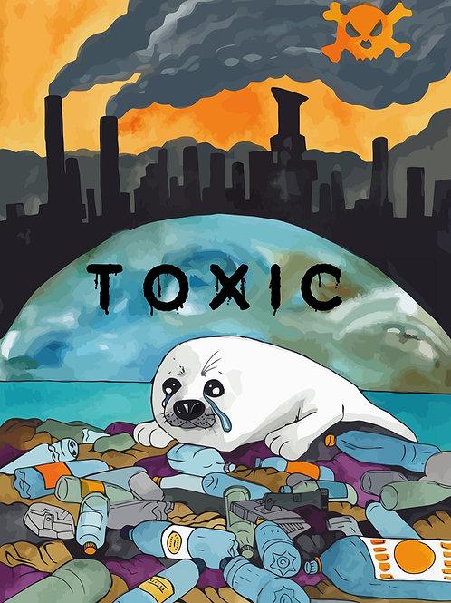 Toxic Planet Print