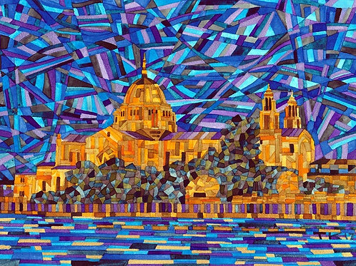 Galway Cathedral Mosaic Print