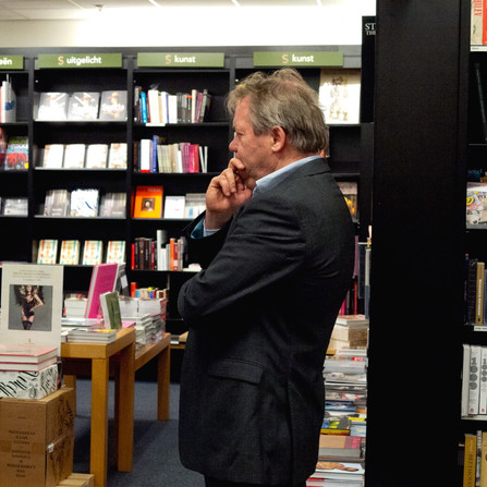 Boekhandel Scheltema, Amsterdam, 31 januari 2013