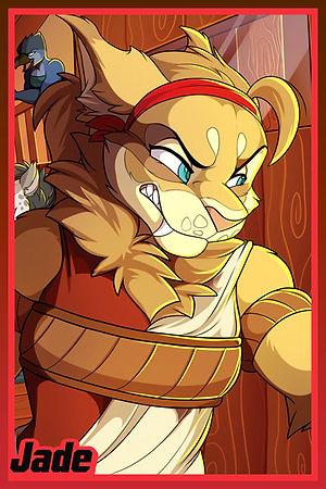 Jade Bree Furry Kabier Kabscorner Jasonafex Double Trouble Lynx Comic
