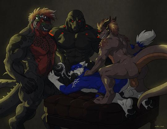 Kane, Dagg, Nik and Nox Fanart.jpg