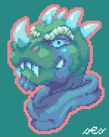 Vergence Pixel Mugshot Fanart Avatar