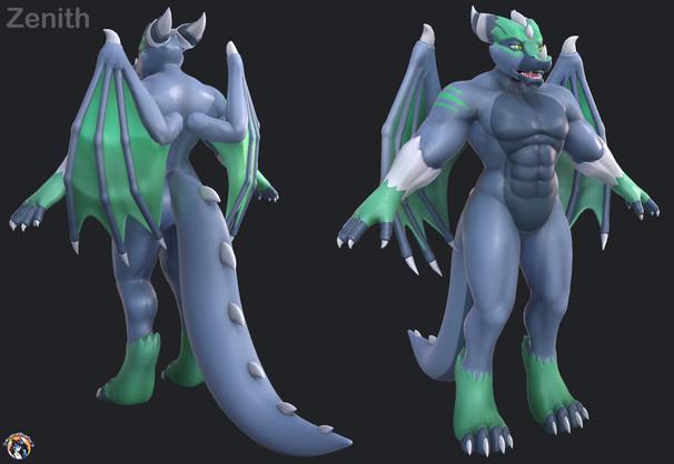 Zenith  3D Model Jeyeff