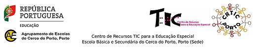 Cabeçalho CRTIC Porto