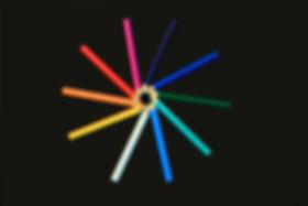 Cirkel van Kleurpotloden Schuine