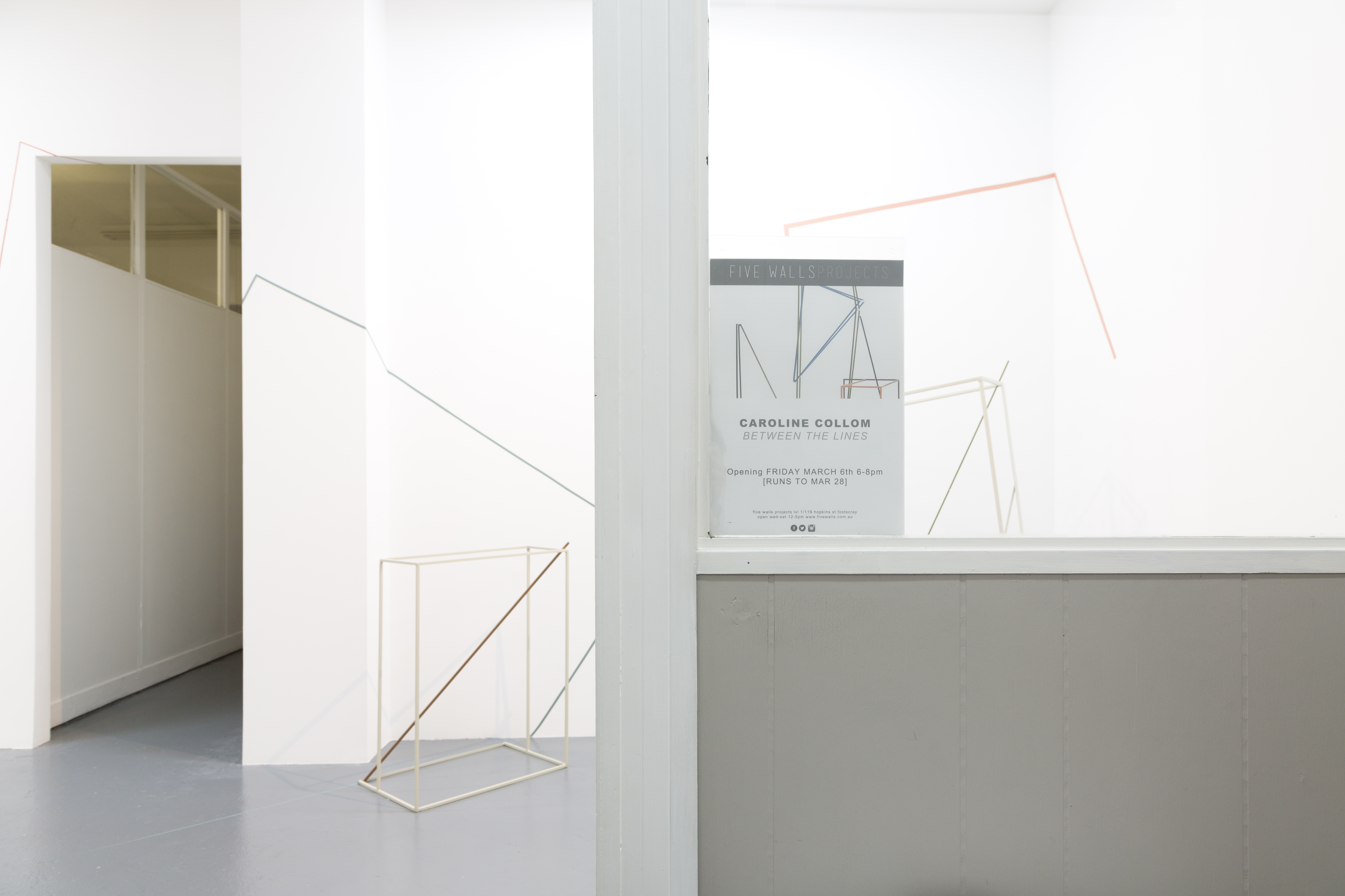 Entrance to 'Between the Lines'