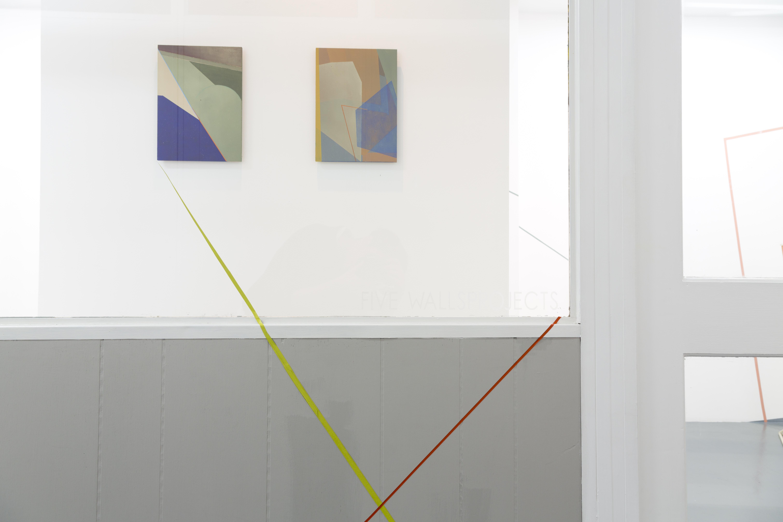 Window Shot of Paintings
