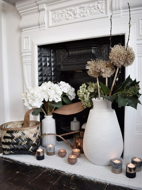 winter home styling accessories