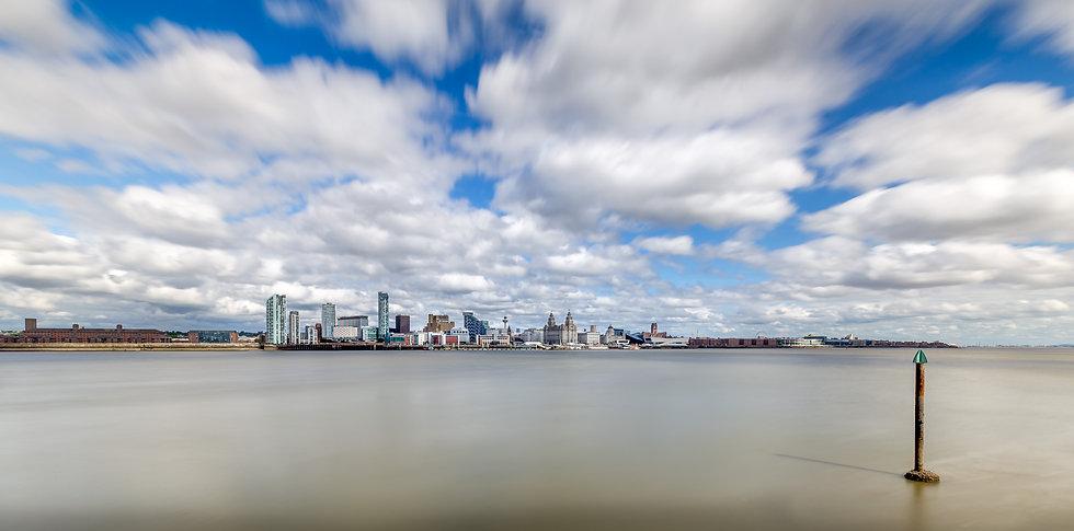 Liverpool Skyline - Mersey View