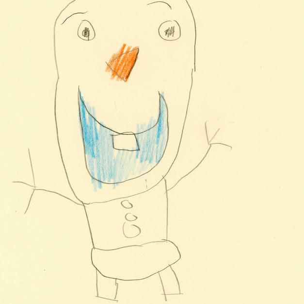 Our Friend 'Olaf' by Harry.