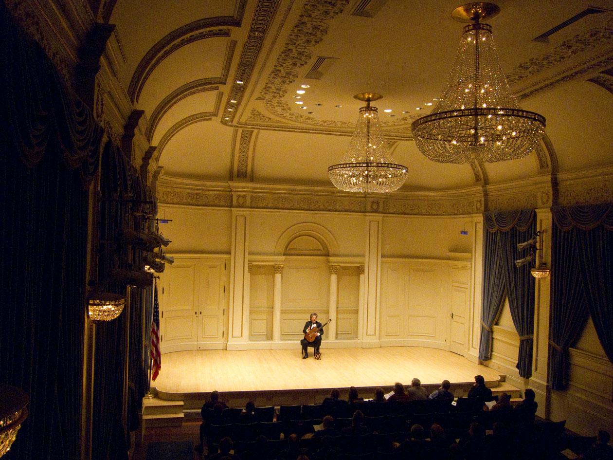 Сольный концерт в Карнеги Холл