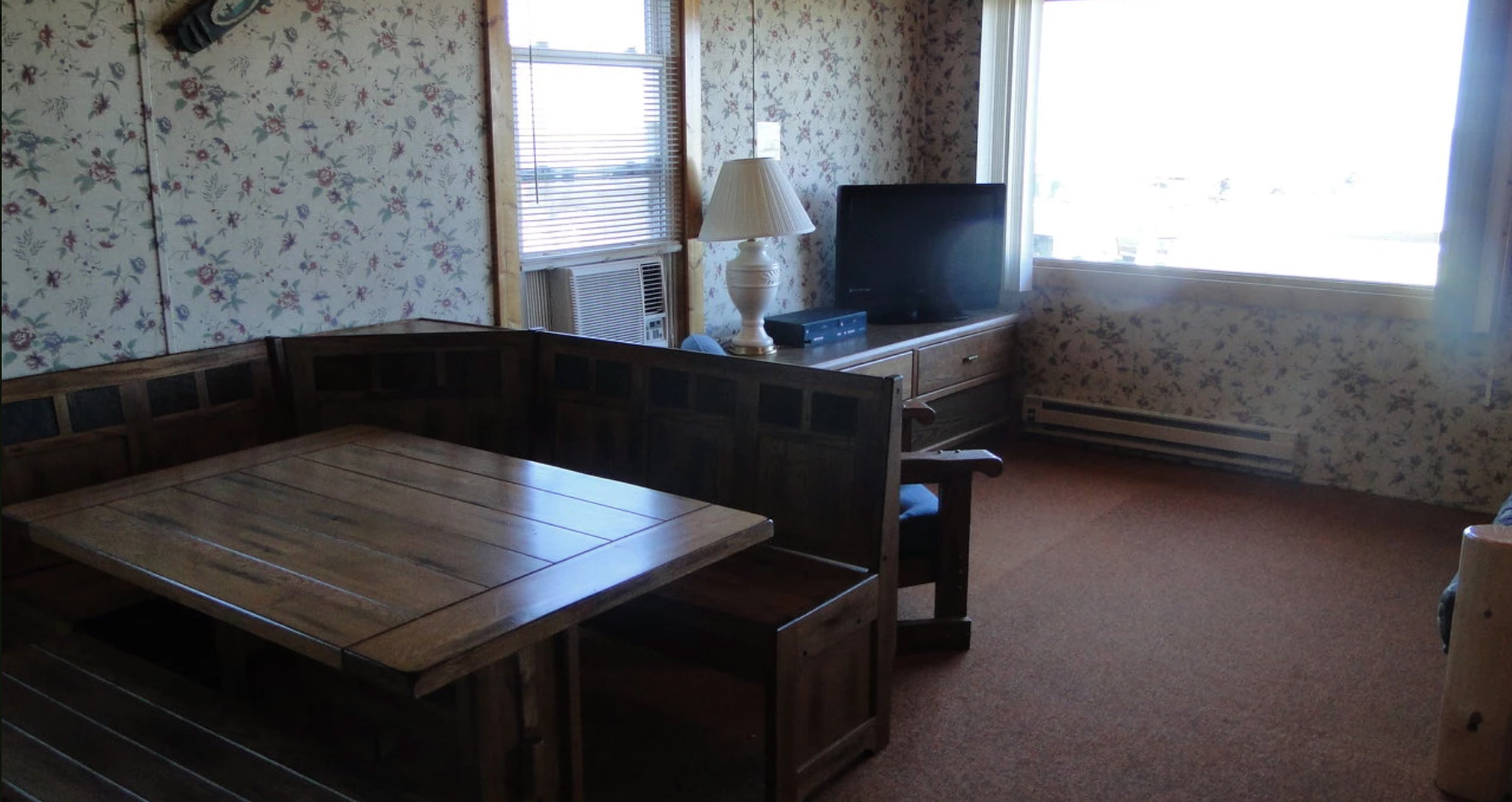 Duplex Cabin Living Area