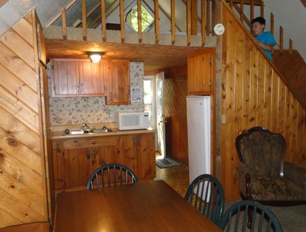 A-Frame Cabin Kitchen