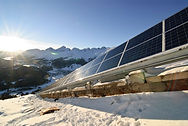 hotel-with-solar-panels-in-the-hill-wint