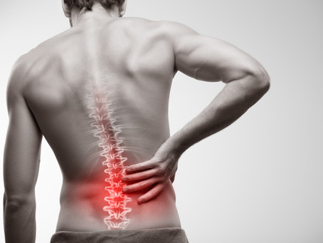 Our Top Tips To Deal With Low Back Pain...