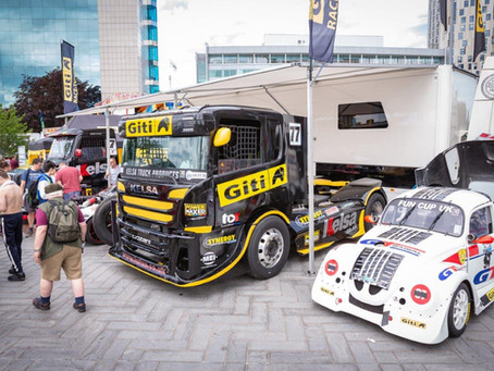 TRUCKS AT SPEED - ON THE ROAD - AT - COVENTRY MOTOFEST