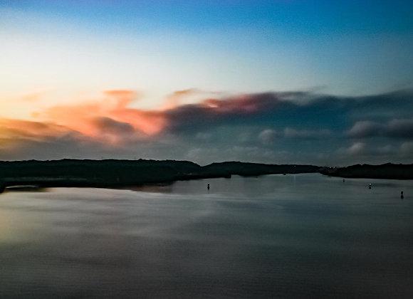 Dawn on Gatun Lake