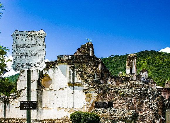18th Cen. Convent in Guatemala