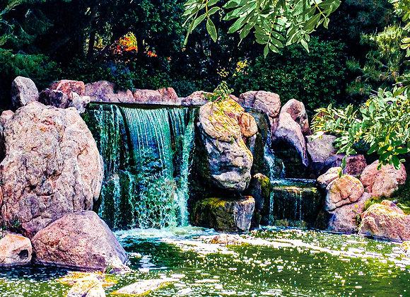 Lake at Japanese Garden, Phoenix