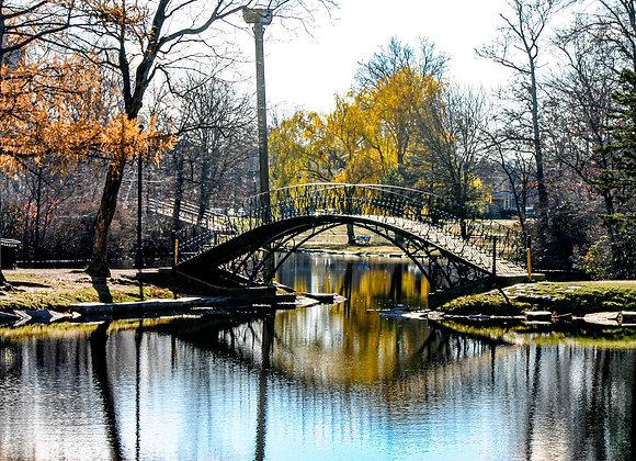 Urban Park in Fall