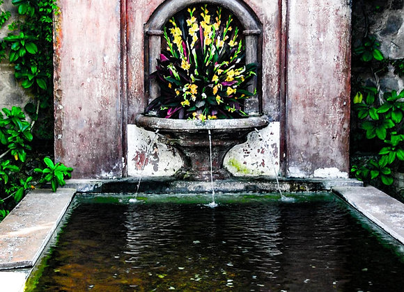 Carved Fountain