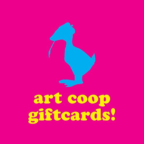 Art Coop Giftcard