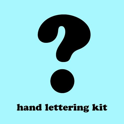Mystery Hand Lettering Pen Kit