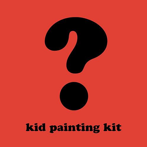 Mystery Kid Painting Kit