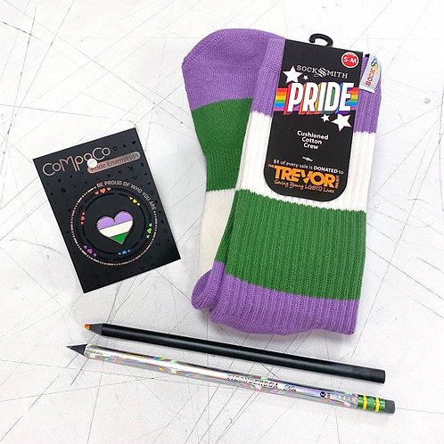 Genderqueer Pride Kit!