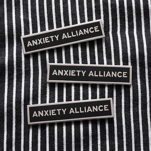 Anxiety Alliance Enamel Pin