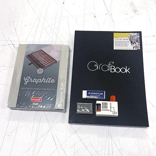 Graf Book Graphite Sketch Kit