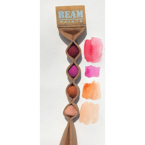Beam Paints Rose Watercolor Palette